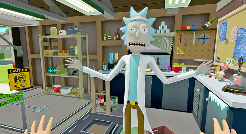 The Rick and Morty VR Experience