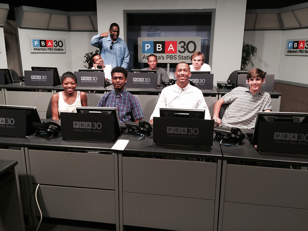 The Fulton County students gaining realworld experience at Atlanta's PBS station