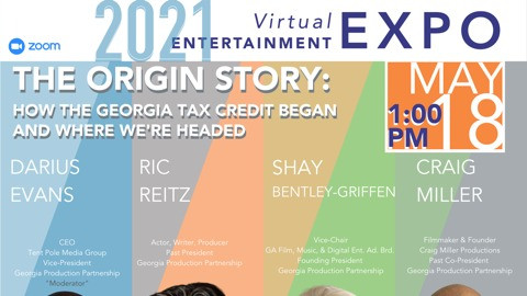 Dekalb Entertainment Commission Partners With Georgia Production Partnership for 2021 Virtual EXPO
