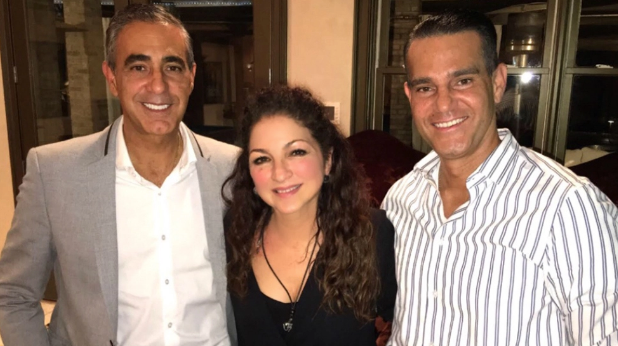 The Areu Brothers and Gloria Estefan