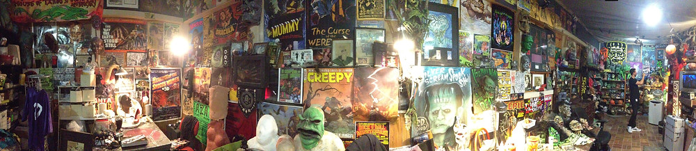 One of the rooms at Silver Scream FX Lab