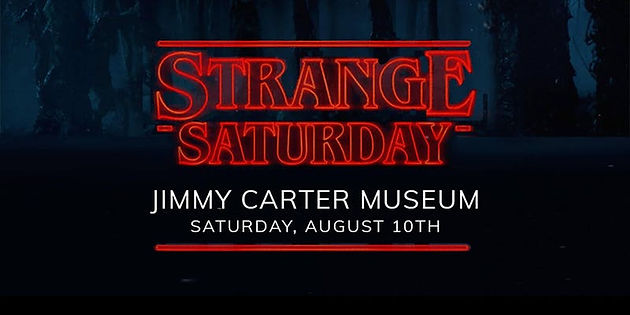 Strange Saturday at Jimmy Carter Presidential Library & Museum