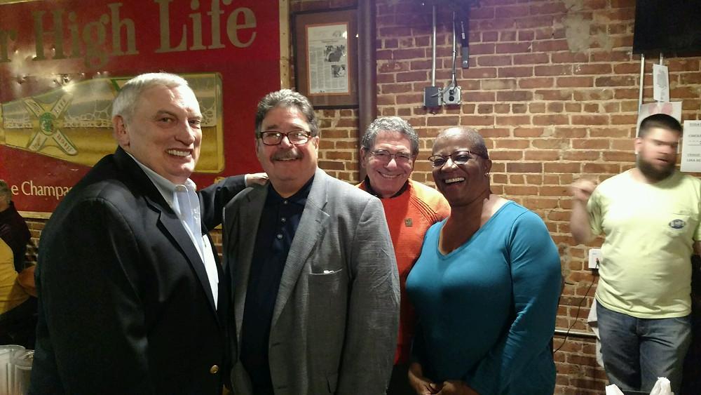 Bill Lee, John San Miguel, Jeff Winter, Dr. Althea Sumpter