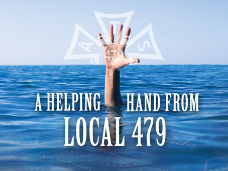 A Helping Hand from Local 479