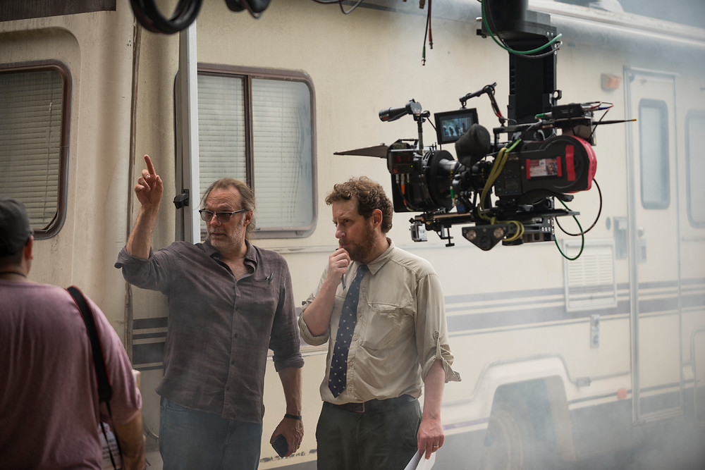 Executive Producers Greg Nicotero (left) and Scott Gimble work closely together. As Showrunner, Gimble spends every day keeping the storyline and anything that visually punctuates it on track. Photo credit: Gene Page/AMC