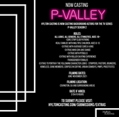 Casting Call for P-Valley