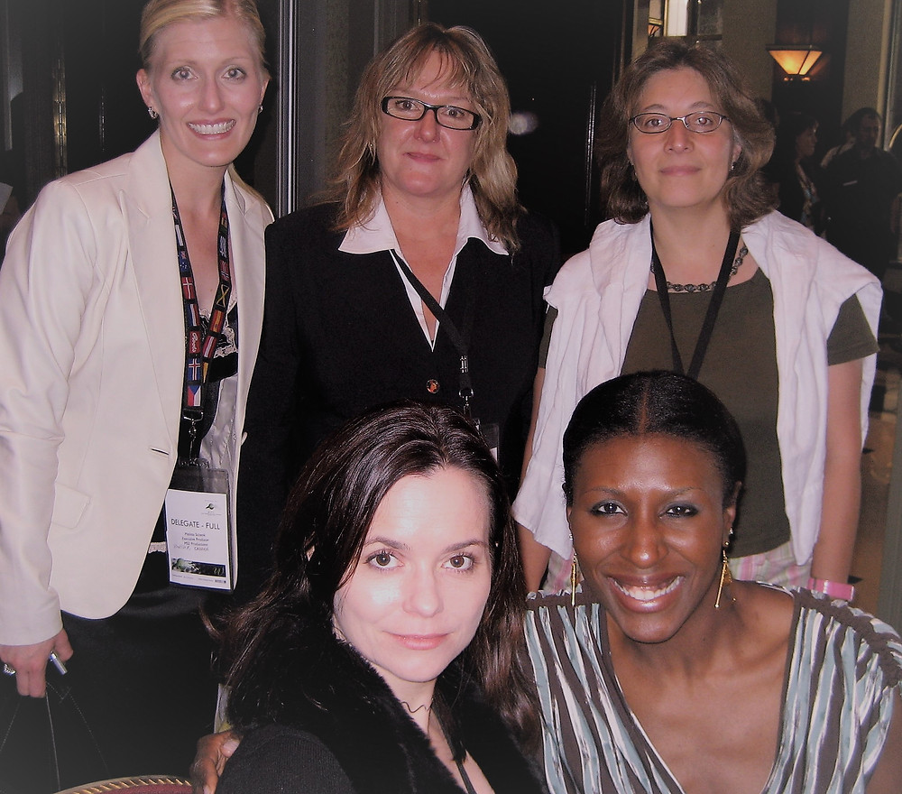 Richardson (bottom right) & guests at WIFTI Conference 2007