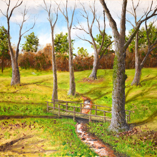 Streams of Beulah 16x20 (Oil on Canvas)