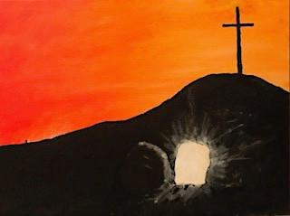 Resurrection (Acrylic on Panel)