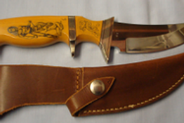 Jerry Rados Sub Hilt fighter Knife