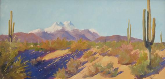 Four Peaks in Winter