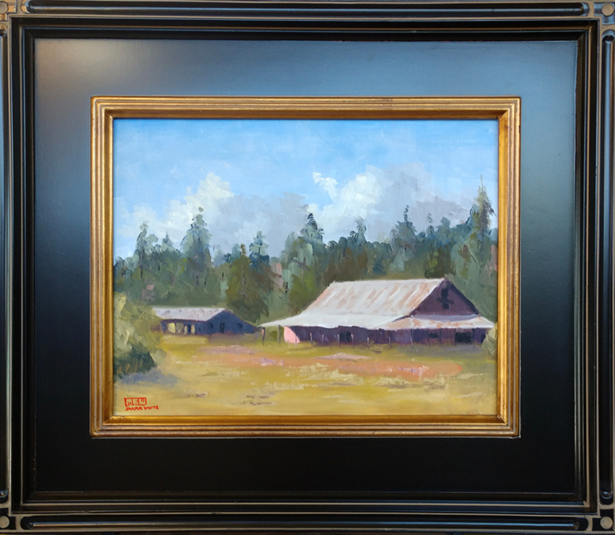 """Old Barn"" Pinedale AZ"