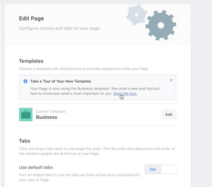 Facebook Business Theme