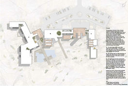 MMA caltural center. Competition entry desing by +CUBE architects.