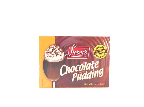 PUDDING DE CHOCOLATE - LIEBER'S