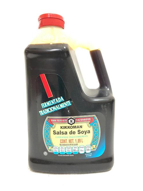 SALSA DE SOYA 1.89L - KIKKOMAN