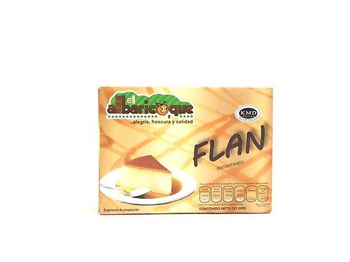 FLAN INSTANTANEO - ALBARICOQUE