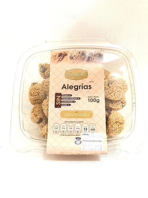 ALEGRÍAS DE CHOCO CHIPS - DAYLISH