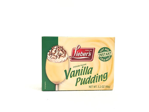 PUDDING DE VAINILLA - LIEBER'S