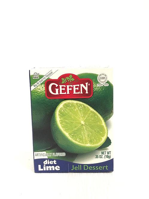 GELATINA DE LIMÓN DIETA - GEFEN