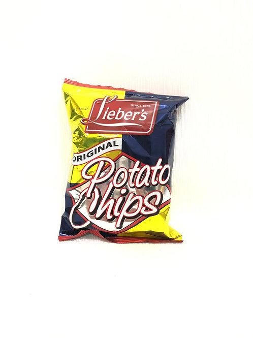 POTATO CHIPS ORIGINAL - LIEBER'S