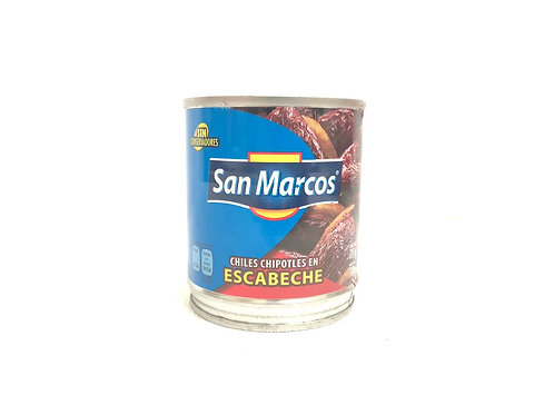 CHILES CHIPOTLES EN ESCABECHE - SAN MARCOS