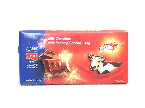 MILK CHOCOLATE W/ POPPING CANDIES - ELITE