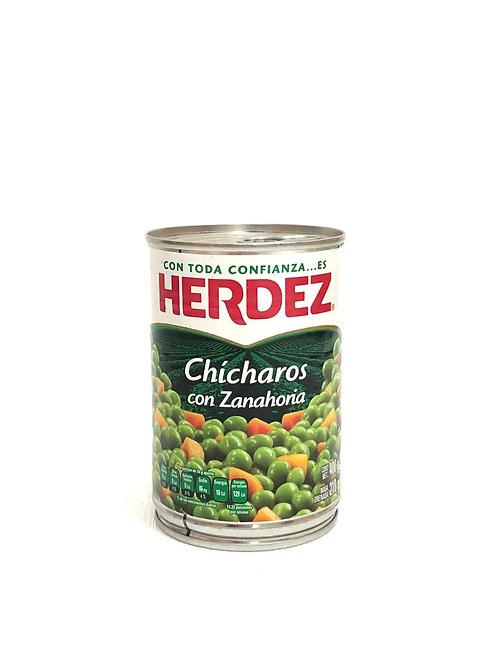CHICHAROS CON ZANAHORIA - HERDEZ