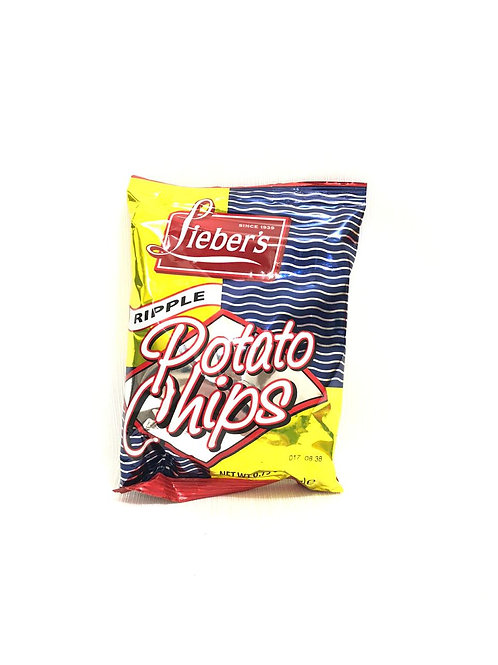 POTATO CHIPS RIPPLE - LIEBER'S