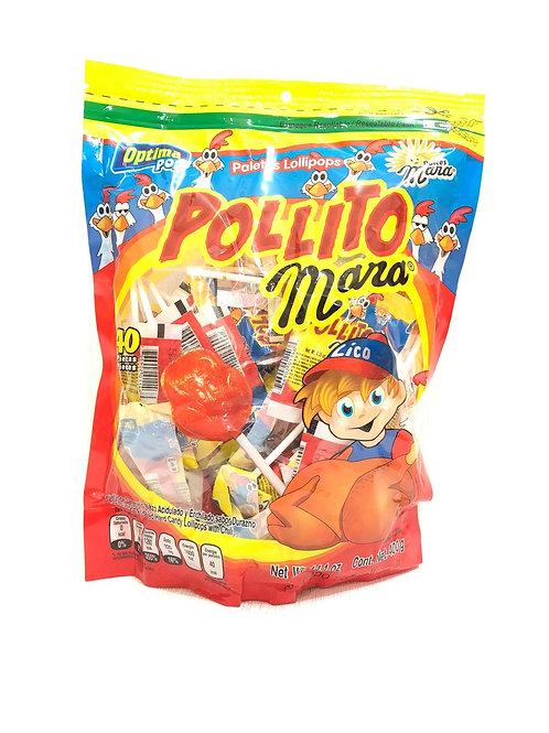 PALETAS POLLITO - DULCES MARA