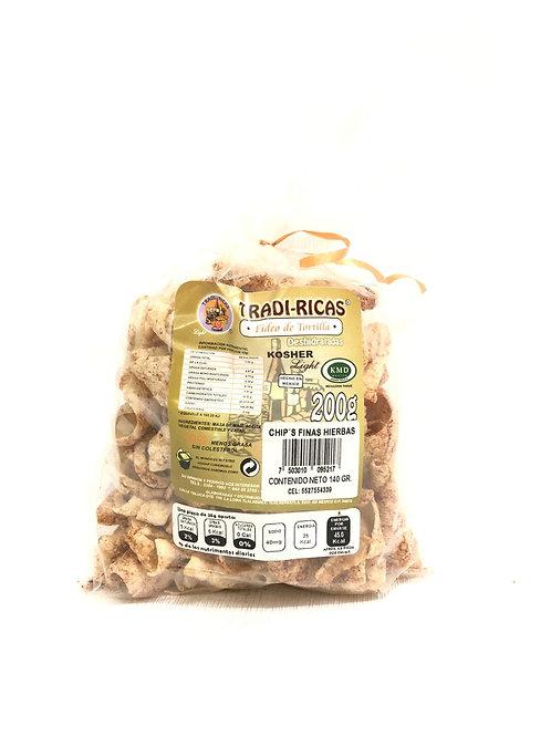 CHIP'S HIERBAS FINAS - TRADI RICAS