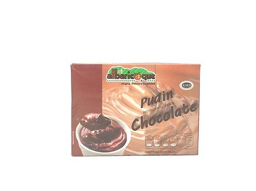 PUDIN DE CHOCOLATE - ALBARICOQUE