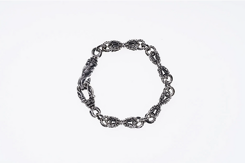 [ZOCALO] Linked Small Bird Dorje Bracelet (S)
