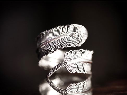 【 ZOCALO 】Phoenix Feather Ring (L) 鳳翎·戒指