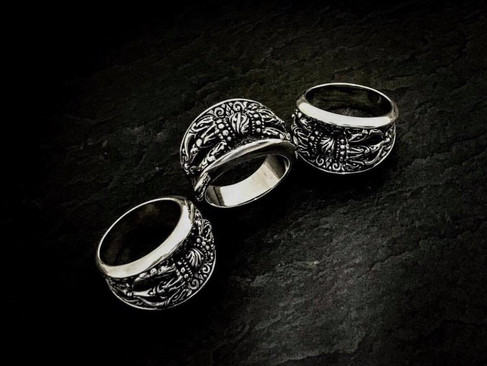 【ZOCALO】Tibetan Dragon Dorje Ring 《商品介紹》藏龍金剛杵戒指KOOLOOK代理