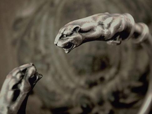 【ANIMAL-WORSHIP SILVE】商品介紹Panther Bangle