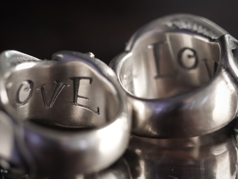 【 RatRace 】Message On Ribbon Ring (CustomMade Series)