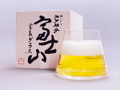 富士山 寶永啤酒杯 / Mt.Fuji Hoei Glass