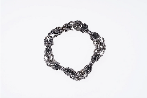 [ZOCALO] Double Linked Tibetan Dragon Dorje Bracelet