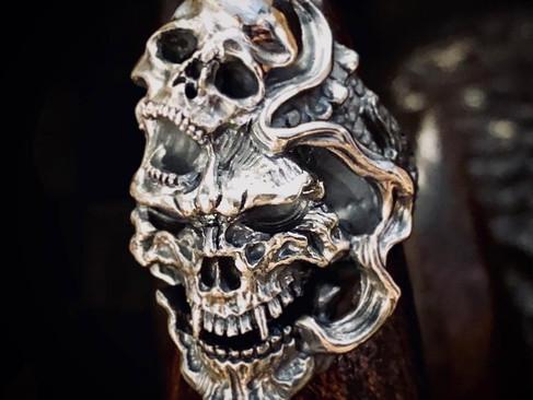 【 LegioMade * Dual Flow 】 聯名· Dragon skull