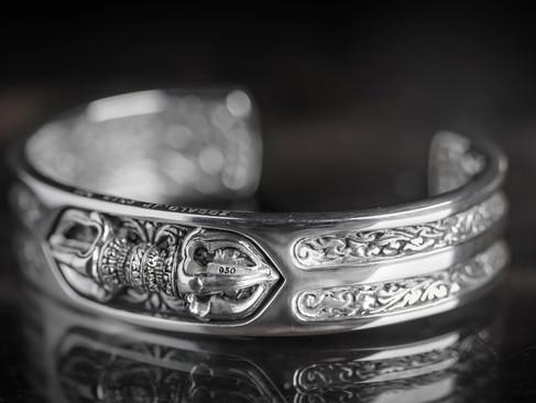 【 ZOCALO 】皇冠金剛杵·手環
