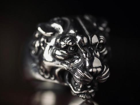 【 Animal Worship Silver 】Panther Ring — 豹·戒指