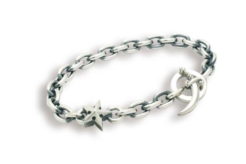 [FAL] 哥特式明星單點鏈手鍊M