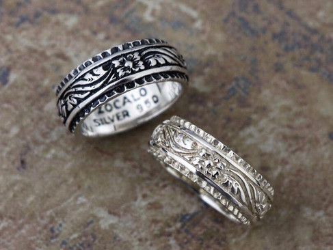 【 ZOCALO 】Ivy Wide Ring