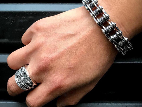 【ZOCALO】Drive Chain Bracelet (S)