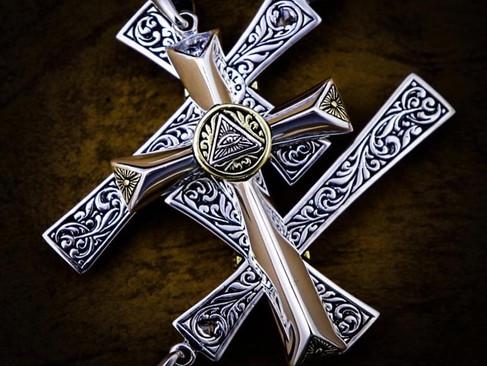 【ZOCALO】Eye of Providence cross Pendant