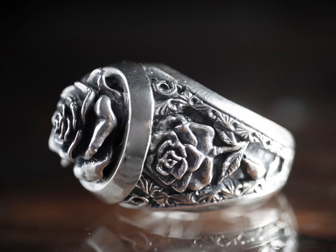 【 Gimmel Garden 】「 蔷薇花葬·吸魂 」戒指