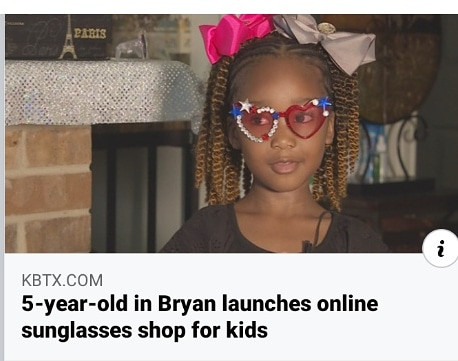Skye made the local news!