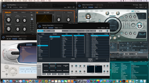 Logic Pro X plug-ins. Screenshot by Michele Leonard