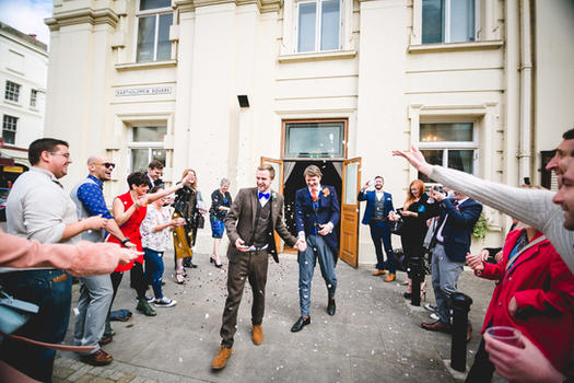 Brighton Civil Ceremony | Brighton Wedding Photographer | Lucky Sam Wedding Photographer